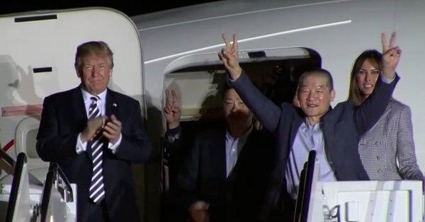 Coreanos estadounidenses liberados por el régimen en los últimos meses