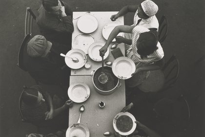 """""""Almuerzo. Cocina-fábrica"""", de 1931"""