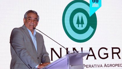 Carlos Iannizzotto, President of Coninagro