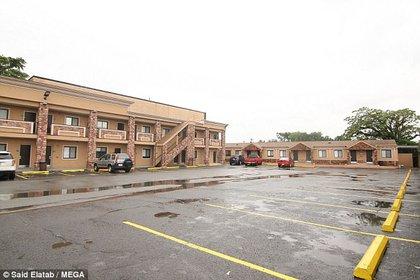 El motel en el que se está alojando O'Connor