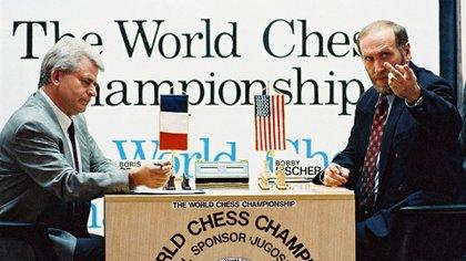 El reloj Fischer ideado por Bobby hizo su debut en el match oficioso que su dueño llevó a cabo con Spassky, en Sveti Stefan (Montenegro) en 1992.