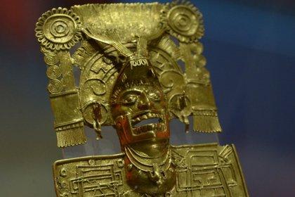 Una de las piezas de la tumba, descubierta en 1932 (Foto: Héctor Montaño / INAH)