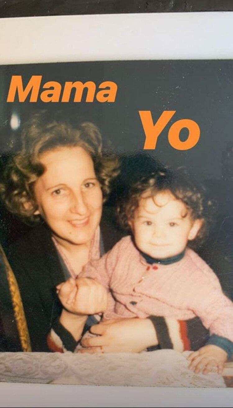 El posteo de Sabrina Rojas por el Día de la Madre (Foto: Instagram)