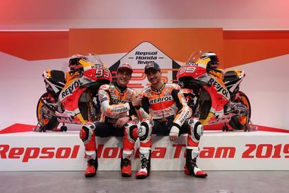 Marc Marquez y Jorge Lorenzo, pilotos españoles, componen el equipo Honda en el MotoGP (REUTERS/Susana Vera)