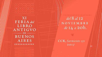 11ª Feria del Libro Antiguo de Buenos Aires