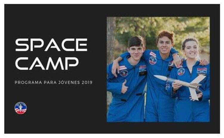 El Space Camp es una iniciativa en conmemoración por los 50 años de la llegada del hombre a la Luna