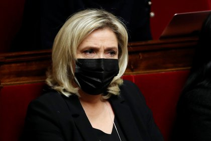 Marine Le Pen. REUTERS/Gonzalo Fuentes