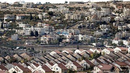 Colonias israelíes en Cisjordania