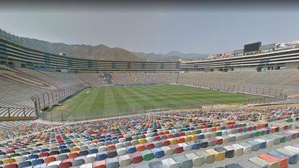 El estadio Monumental, candidato a albergar la gran definición (Google Street View)