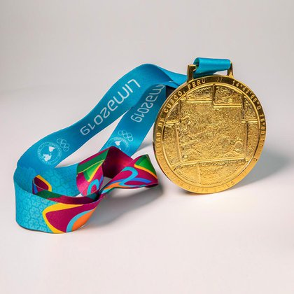 Así serán las medallas de oro de los juegos Panamericanos
