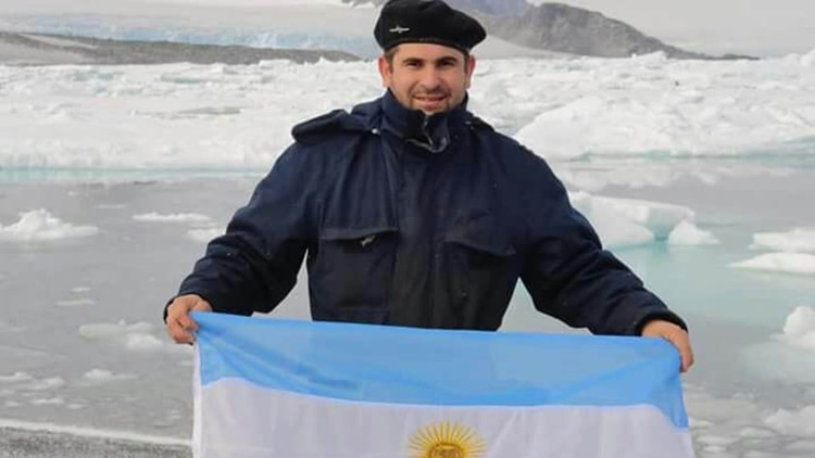 Hernán Rodríguez, jefe de motores del submarino ARA San Juan
