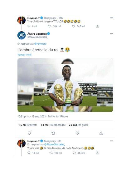 """Te hice famoso"", le disparó Neymar"