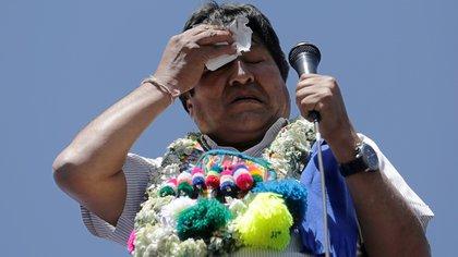 Evo Morales busca su cuarto mandato. REUTERS/David Mercado