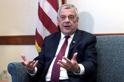En la imagen, el subsecretario de Estado para Asuntos del Hemisferio Occidental de Estados Unidos, Michael Kozak (EFE/Lenin Nolly/Archivo)
