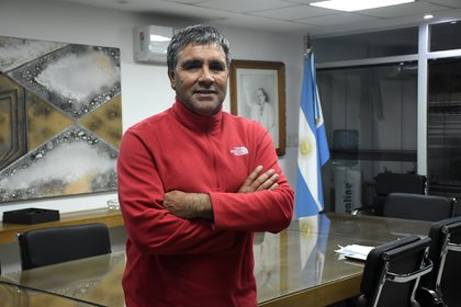 Daniel Vila, titular del Sindicato de Carga y Descarga (Foto: Nicolas Stulberg)