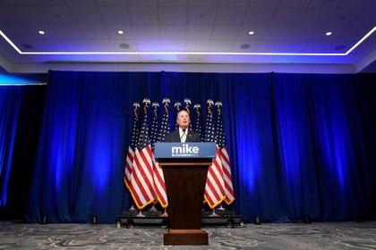 Michael Bloomberg responde las preguntas de la prensa tras anunciar su candidatura presidencial. November 25, 2019. REUTERS/Joshua Roberts