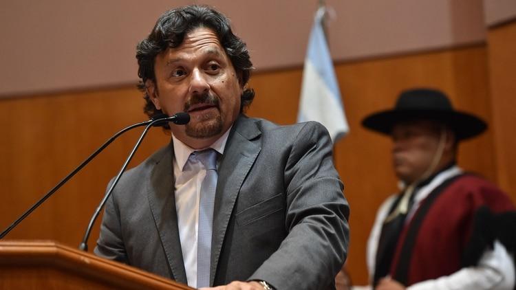 Gustavo Sáenz, gobernador de la Provincia de Salta