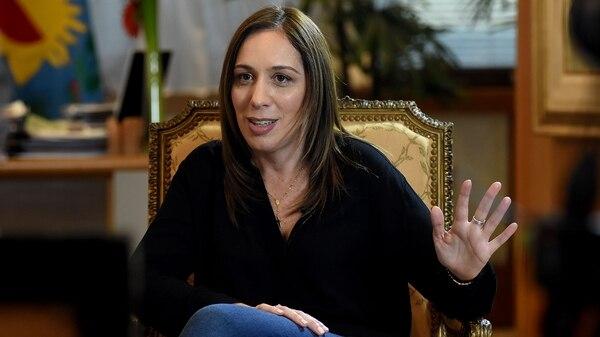 """María Eugenia Vidal: """"No tengo ganas de ser Presidente, no creo que se dé la oportunidad"""""""