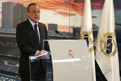 El presidente del Real Madrid, Florentino Pérez, es el presidente de la Superliga (EFE)