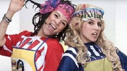 Las lavanderas fue un show que adquirió fama en 2012, era un programa de comedia protagonizado por Karla Luna y Karla Panini