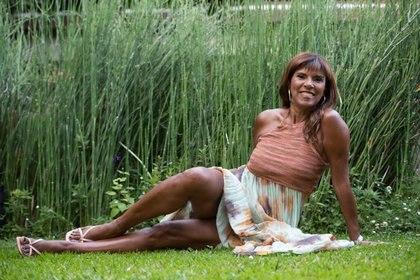 La modelo y presentadora televisiva llegó a la Argentina en 1976
