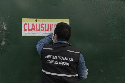 """El pasado miércoles, el municipio de Quilmes clausuró el frigorífico """"El Federal"""" (Foto: Municipalidad de Quilmes)"""
