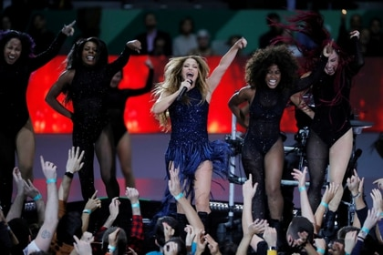 Shakira Isabel Mebarak Ripoll, your full name, ventured from a very small musical composition (REUTERS/Susana Vera)