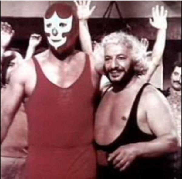 Caballero Rojo y Martín Karadagian