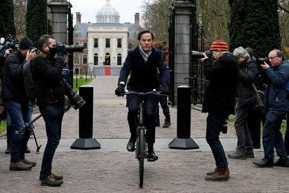El primer ministro holandés Mark Rutte en La Haya (REUTERS / Archivo)