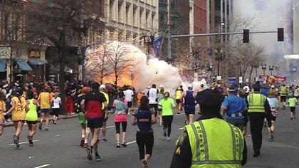 El atentado de Boston dejó tres muertos y más de 200 heridos (REUTERS / Dan Lampariello)