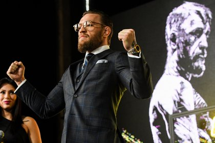 McGregor regresa a la acción en 2020 (AFP)