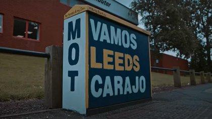 Algunas pintadas en Leeds son en castellano desde el arribo de Bielsa
