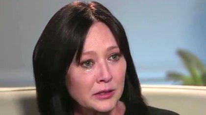 Shannen contó emocionada en cámara que está luchando por su vida.