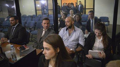El arrepentido Leonardo Fariña, también condenado en una de las audiencias del juicio oral (Gustavo Gavotti)