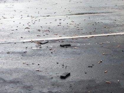 El CJNG disparó 400 veces contra el vehículo del secretario, pero tenía otras 2,000 balas en reserva para el atentado (Foto: Cuartoscuro)