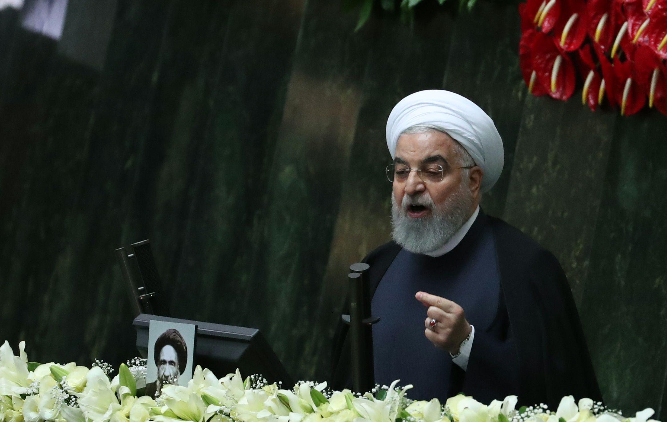 El presidente iraní, Hasan Rohaní. EFE/EPA/ABEDIN TAHERKENAREH/Archivo