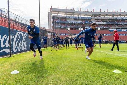 Guillermo Váquez ha trabajado el aspecto defensivo en los entrenamientos (Foto: Cortesía/ Atlético de San Luis)