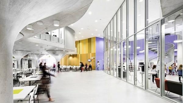 La nueva arquitectura de los colegios finlandeses