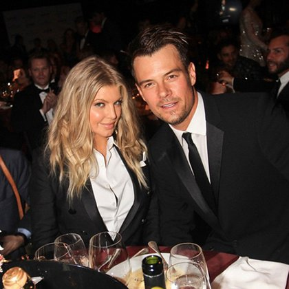Josh Duhamel, con su ex, Fergie