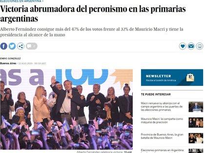 El País, de España