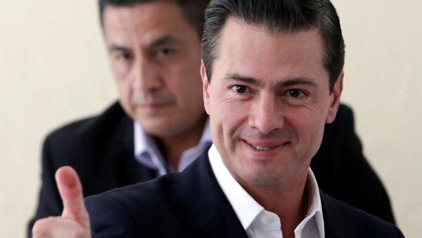 Enrique Peña Nieto fue electo presidente de México en 2012 (Reuters)
