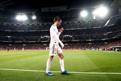 Bale recibió abucheos masivos por parte de los fanáticos del Real Madrid - REUTERS/Sergio Perez