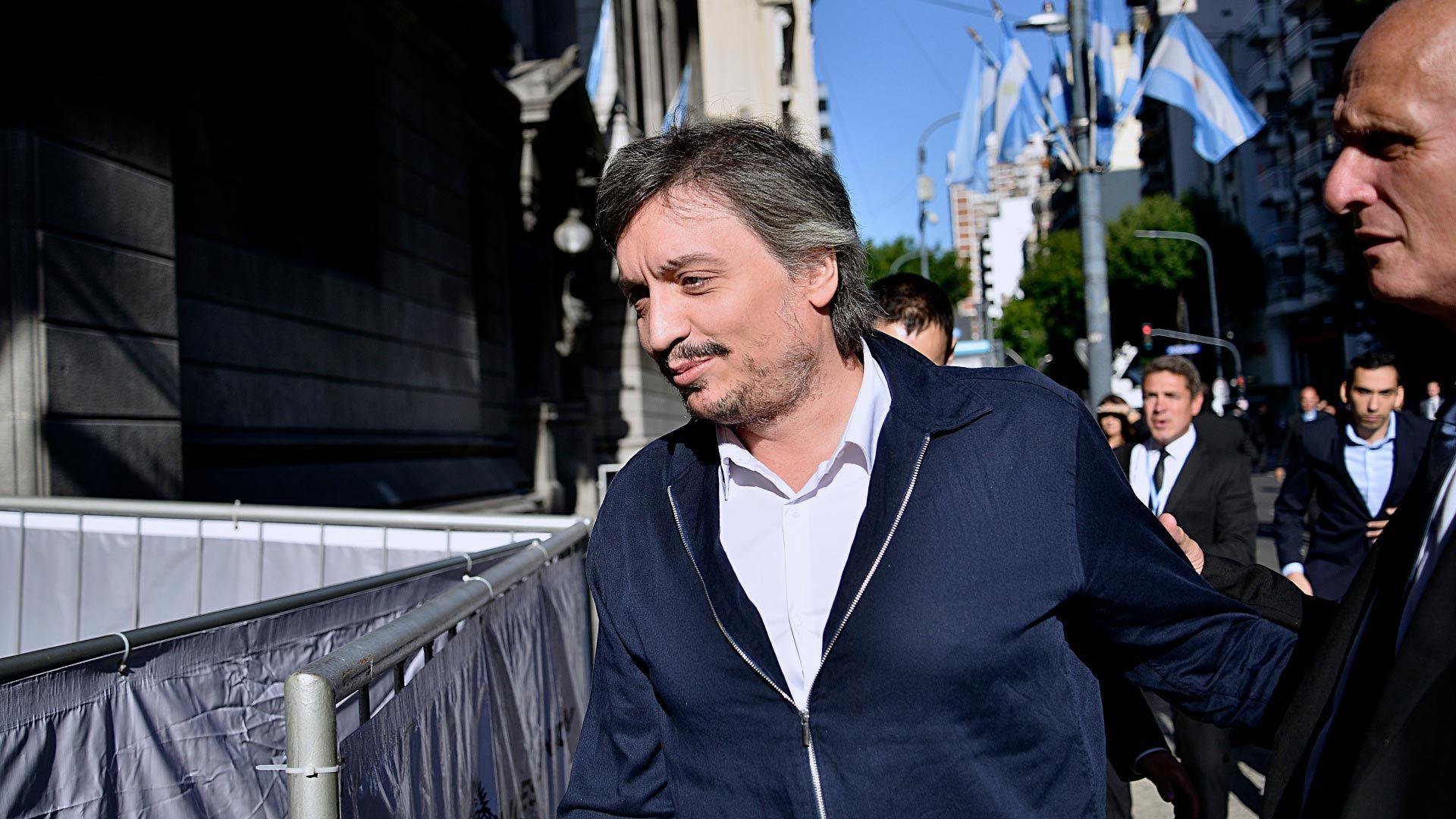 Alberto Fernández advirtió que Máximo Kirchner presentará un proyecto en el que se planteará el cobro de un impuesto excepcional a aquellos que se beneficiaron por el blanqueo de capitales de 2017 (Gustavo Gavotti)