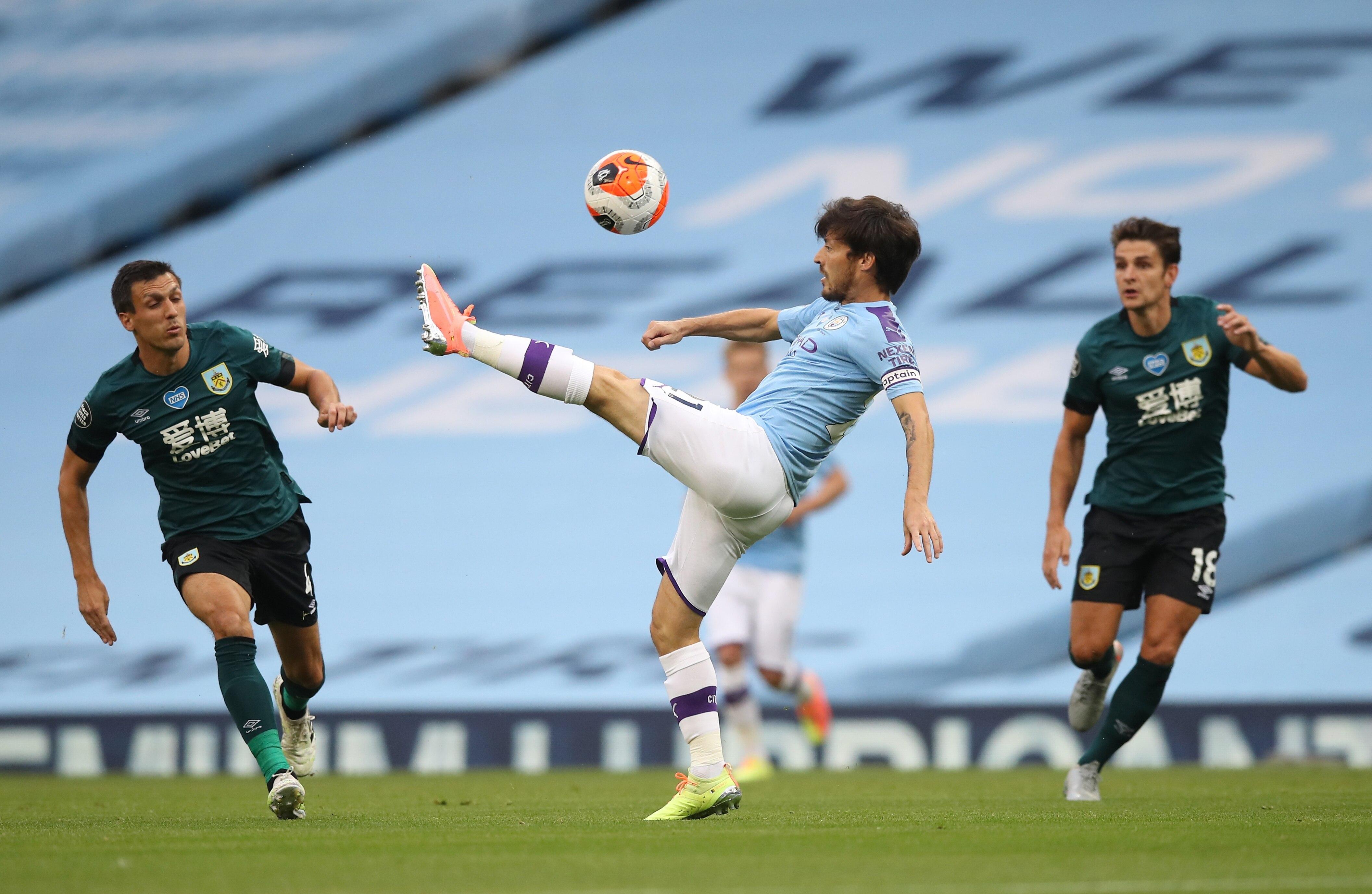 Con Agüero de titular, el Manchester City se impone ante el Burnley en un duelo de especial interés para el Liverpool - Infobae