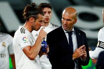 Gareth Bale fue titular en el Real Madrid (Reuters)