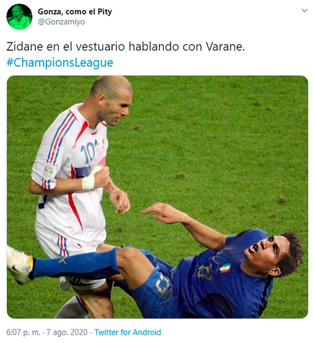 Memes Real Madrid - Varane