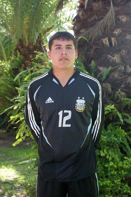 """Cuando formó parte de las juveniles de la Selección, donde compartió plantel con """"Chiquito"""" Romero (Fotobaires)"""
