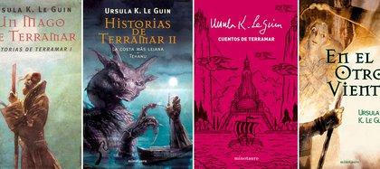 """Los seis libros de la """"saga Terramar"""" en 4publicaciones"""