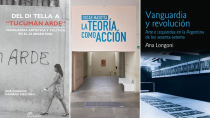 Títulos de Ana Longoni