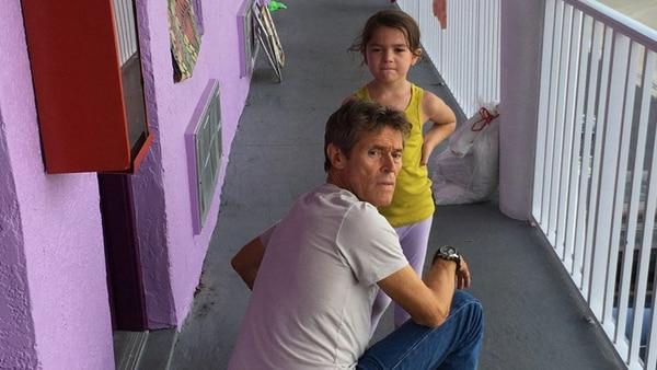 "Willem Dafoe en ""The Florida Project"""